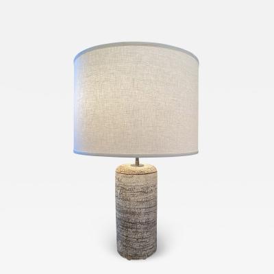 Peter Lane Birch Bark Table Lamp by Peter Lane