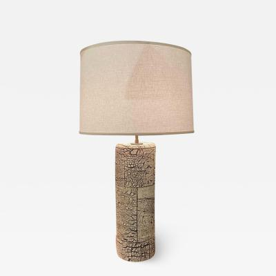 Peter Lane Birchbark Table Lamp by Peter Lane