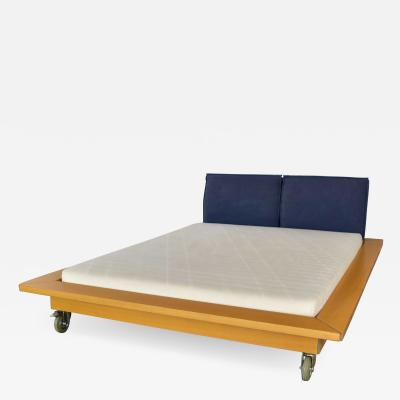 Peter Maly Ligne roset parallele european king size platform bed attributed to peter maly