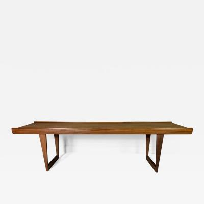 Peter Nielsen Peter L vig Nielsen Teak Coffee Table Dansk Design 1960