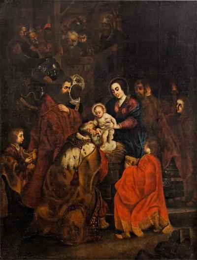 Peter Paul Rubens Painting Adoration Of The Magi After