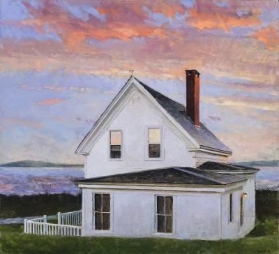Peter Poskas Stonington Sunset