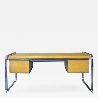 Peter Protzman Zebrawood Desk by Peter Protzmann for Herman Miller