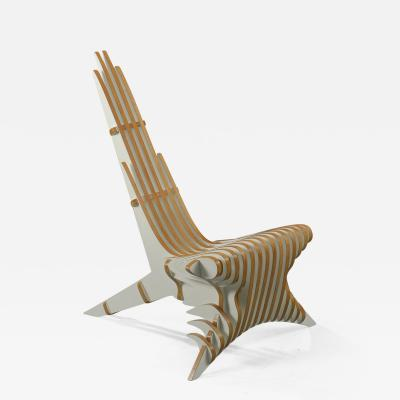 Peter Qvist Peter Qvist Sculptural Birch Lounge Chair