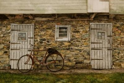 Peter Sculthorpe Bicycle and Barn