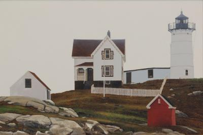 Peter Sculthorpe Cape Neddick Light York Maine