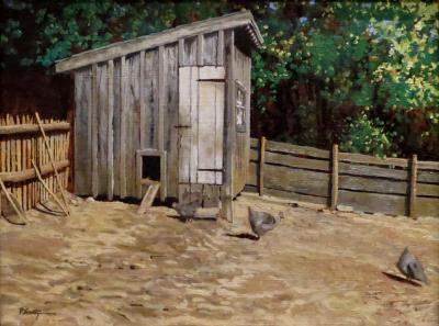 Peter Sculthorpe Chicken Coop