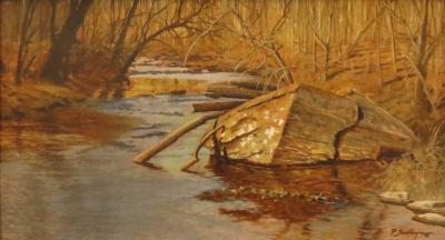 Peter Sculthorpe Creek in Autumn