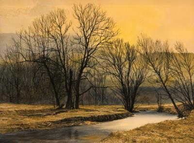 Peter Sculthorpe Sunset on the Creek