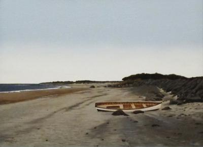 Peter Sculthorpe Waiting the Tide Marthas Vineyard