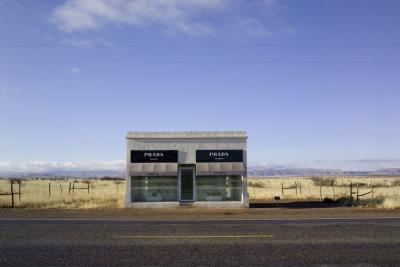 Peter Vanderwarker Near Marfa Texas