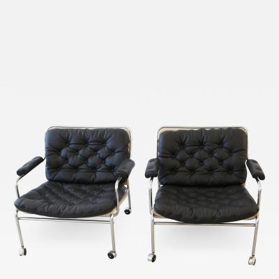 Pethrus Lindl f Eva Lounge Chairs