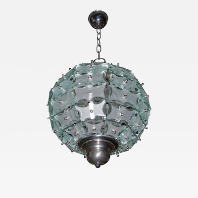 Petit lustre sphere par Quattro Zero edition Fontana Arte