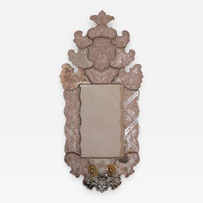 Petite 18th c Venetian Style Mirror