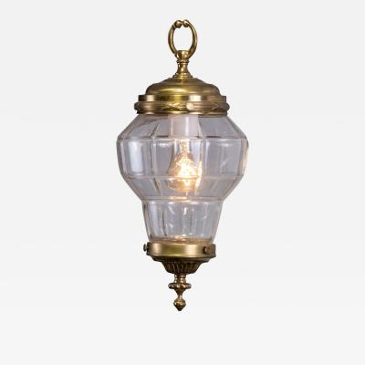 Petite Brass French Hall Lantern