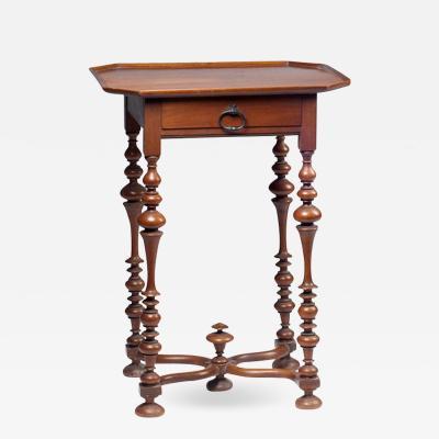 Petite Louis XIII Style Walnut Table