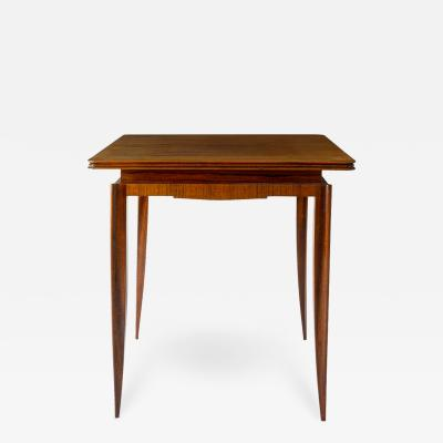 Petite Rosewood French Art Deco Games Table
