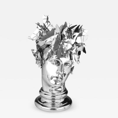 Pewter Decorative Heads