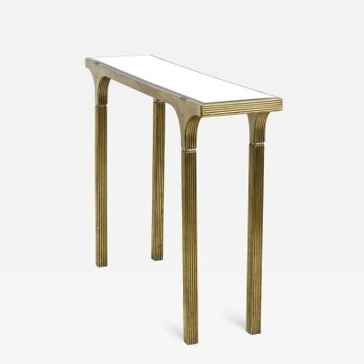 Pharos style revival gold leaf console