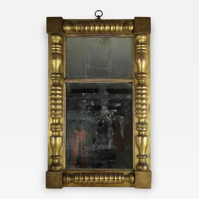 Philadelphia Gold Leaf Looking Glass Circa 1825