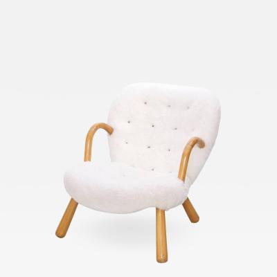Philip Arctander Clam Chair by Philip Arctander