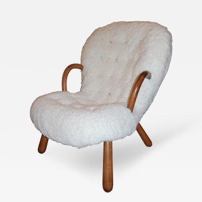 Philip Arctander Philip Arctander Clam Chair 1940s