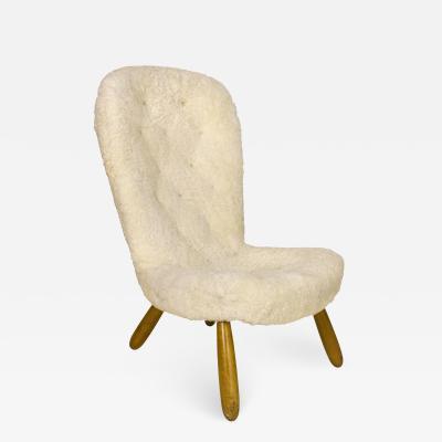Philip Arctander Philip Arctander Clam Chair circa 1940 Denmark