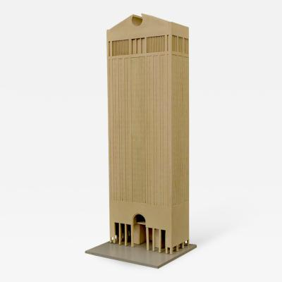 Philip Cortelyou Johnson Architectural Model of AT T Corporate Headquarters Building