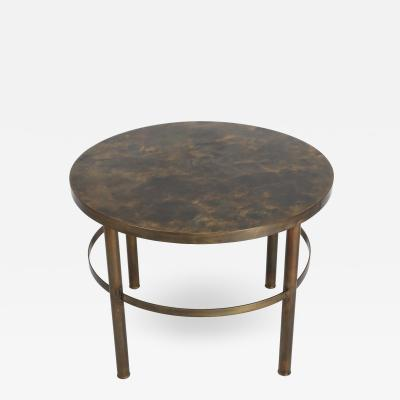 Philip Kelvin LaVerne Bronze End Table by Philip and Kelvin LaVerne circa 1960s