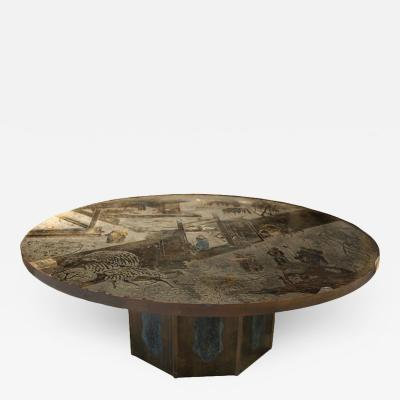 Philip Kelvin LaVerne Chan Coffee Table by Philip and Kelvin LaVerne