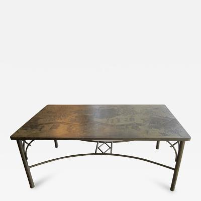Philip Kelvin LaVerne Dining Table by Philip Kelvin Laverne
