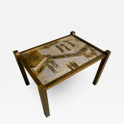 Philip Kelvin LaVerne Laverne Side Table