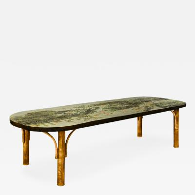 Philip Kelvin LaVerne Low Table by Philip and Kelvin LaVerne
