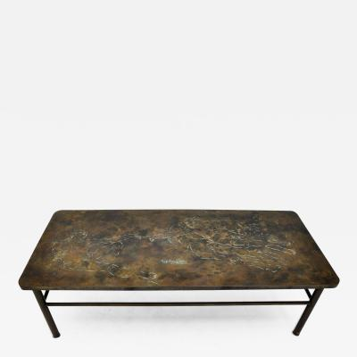 Philip Kelvin LaVerne Philip Kelvin LaVerne Creation of Man Coffee Table