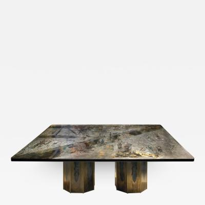Philip Kelvin LaVerne Philip Kelvin LaVerne Rare Chan Dining Table 1960s