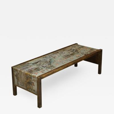 Philip Kelvin LaVerne Spring Festival Low Waterfall Table