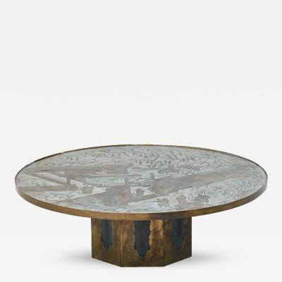 Philip Kelvin LaVerne T 36 Large Chan Coffee Table by Philip and Kelvin Laverne