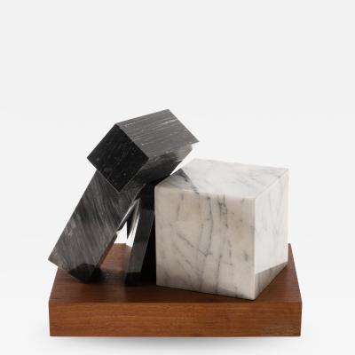Philip Pavia Marble Sculpture Balance