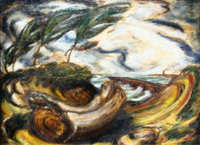 Philip Pearlstein Landscape