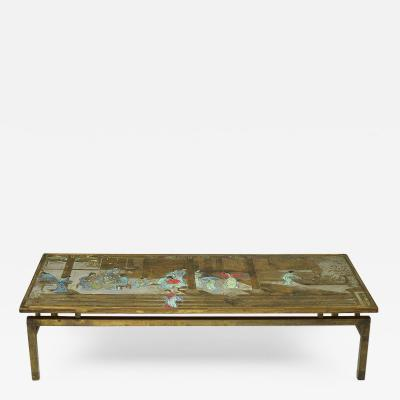 Philip and Kelvin LaVerne CHIN YING COFFEE TABLE BY PHILLIP AND KELVIN LAVERNE