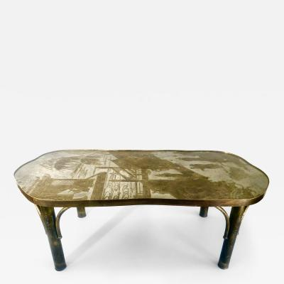 Philip and Kelvin LaVerne Chinoiserie Bronze Coffee Table by Philip Kelvin LaVerne Chan 140