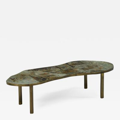 Philip and Kelvin LaVerne Kelvin and Philip Lavern Etched Coffee Table