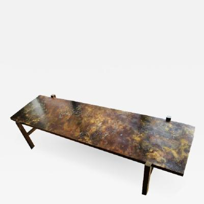 Philip and Kelvin LaVerne LAVERNE RECTANGULAR COFFEE TABLE