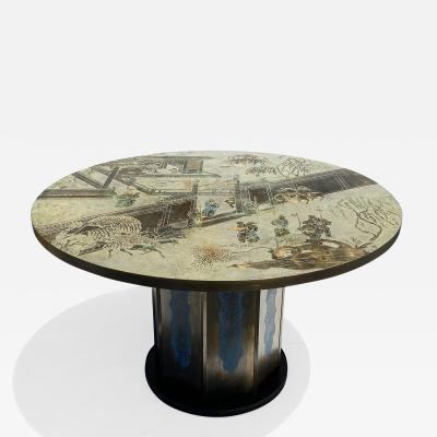 Philip and Kelvin LaVerne LaVerne Dining Center Game Table