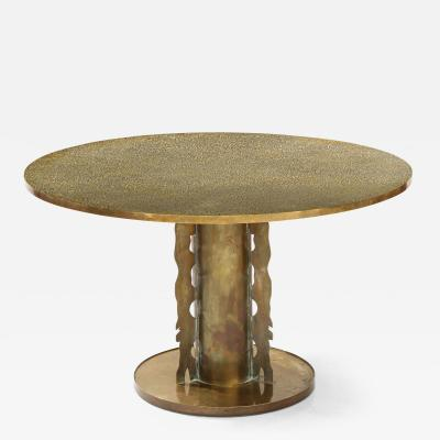 Philip and Kelvin LaVerne Phillip and Kelvin LaVern Etruscan Dining Table 1965