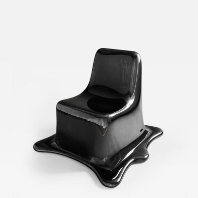 Philipp Aduatz Melting Chair Black Chrome