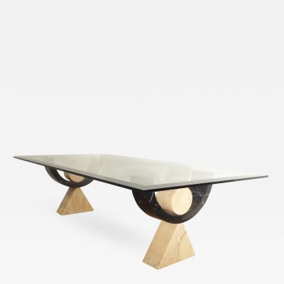 Philippe Barbier Rare Coffee Table by Philippe Barbier 1975