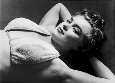 Philippe Halsman The True Marilyn Photograph by Philippe Halsman