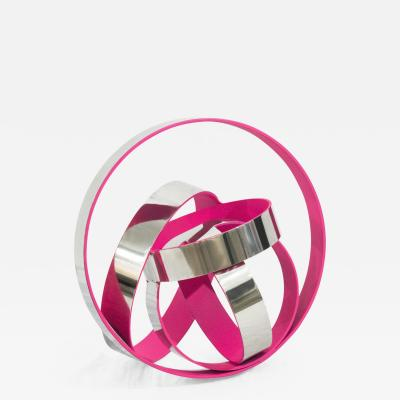 Philippe Pallafray Four Ring Temps Zero Pink
