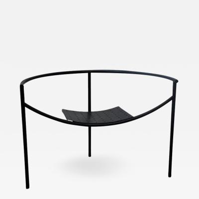 Philippe Starck Early Matte Black Doctor Sonderbar Armchair by Philippe Starck
